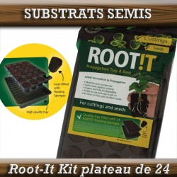PLATEAU DE 24 BOUCHONS ROOT-IT FLEXIMIX